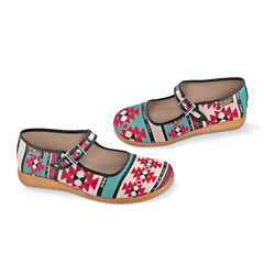 Chocolaticas® Tribal Women's Mary Jane Flat