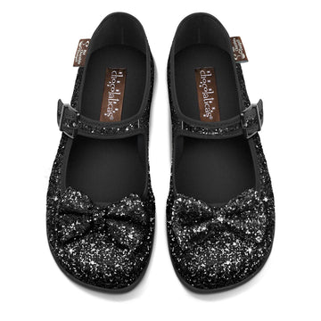 Chocolaticas® Dark Side Of The Rainbow Women's Mary Jane Flat