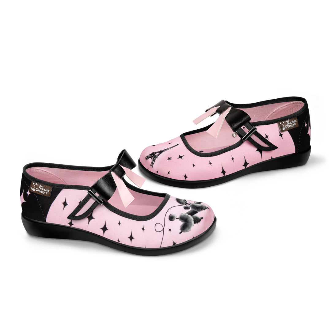Chocolaticas® Paris Women's Mary Jane Flat
