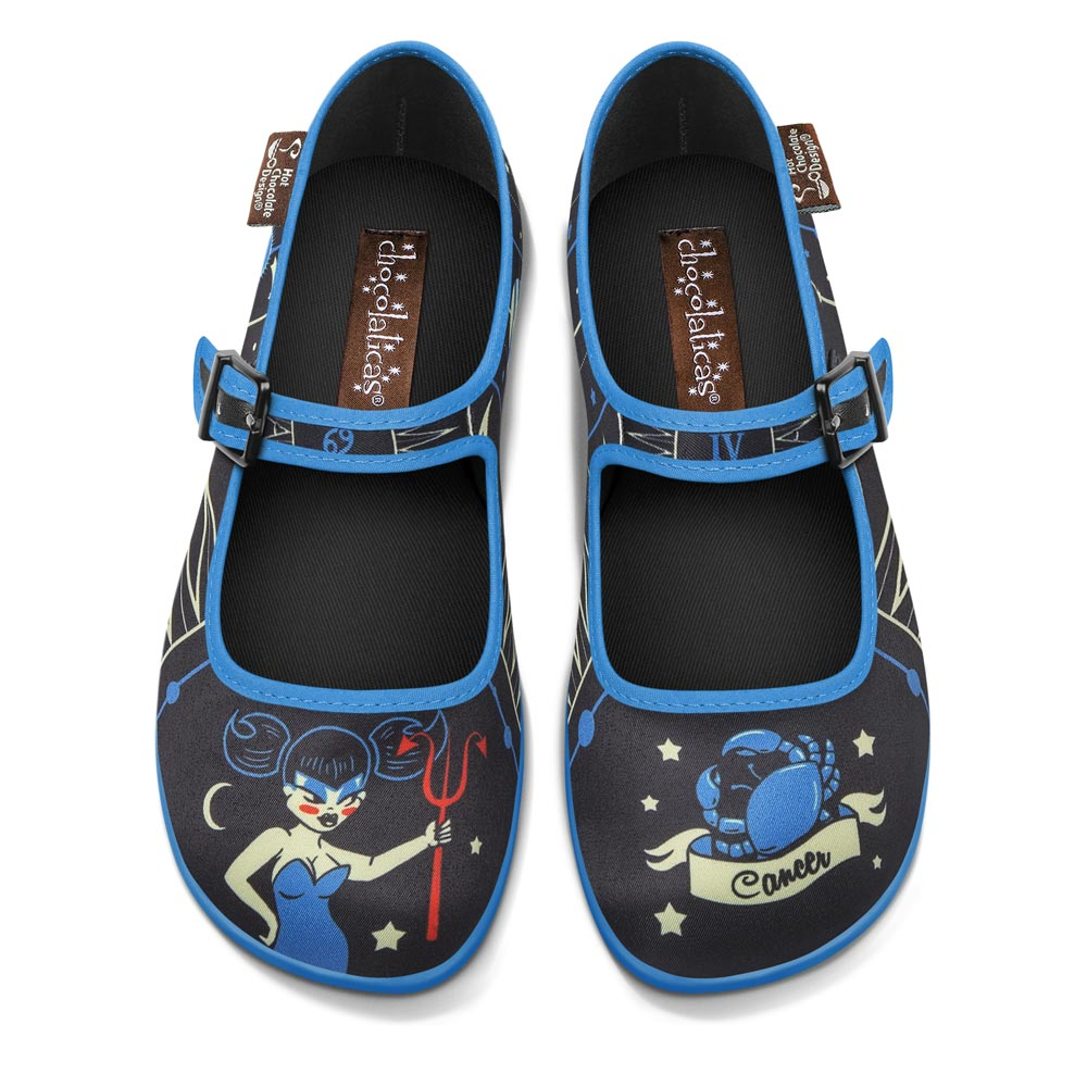 Chocolaticas® Cancer Women's Mary Jane Flat