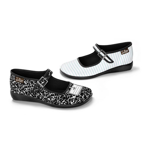 Chocolaticas® Notebook Women's Mary Jane Flat