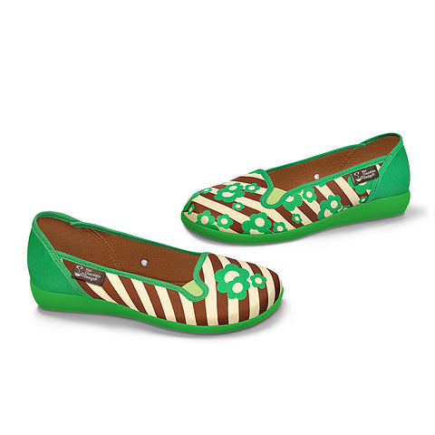 Chocolaticas® Choco Mint Women's Slip-On
