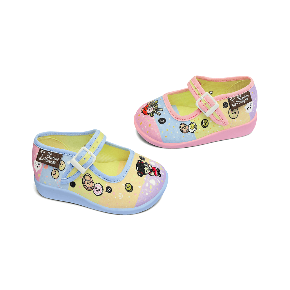 Mini Chocolaticas® Ramen Girls Mary Jane Flat