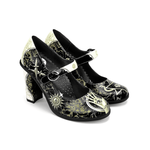 Chocolaticas® High Heels Esoteric Women's Mary Jane Pump