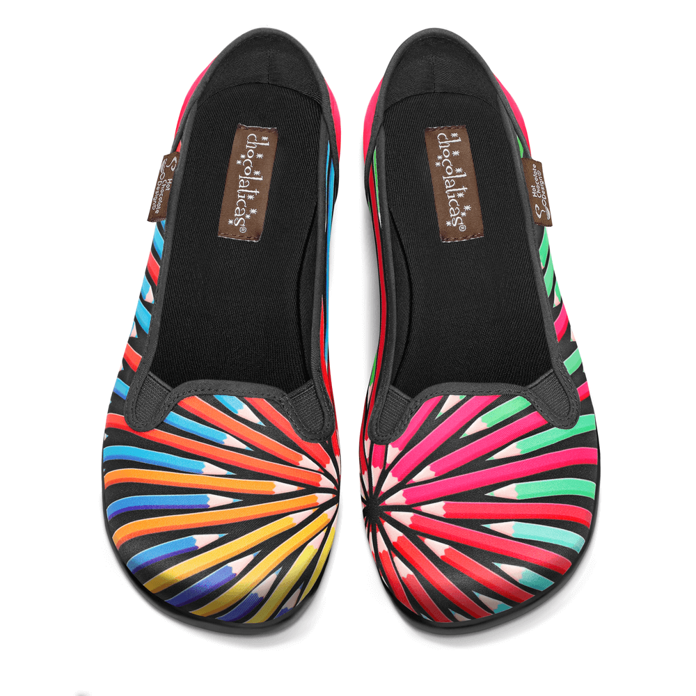 Chocolaticas® Colorama Women's Slip-On