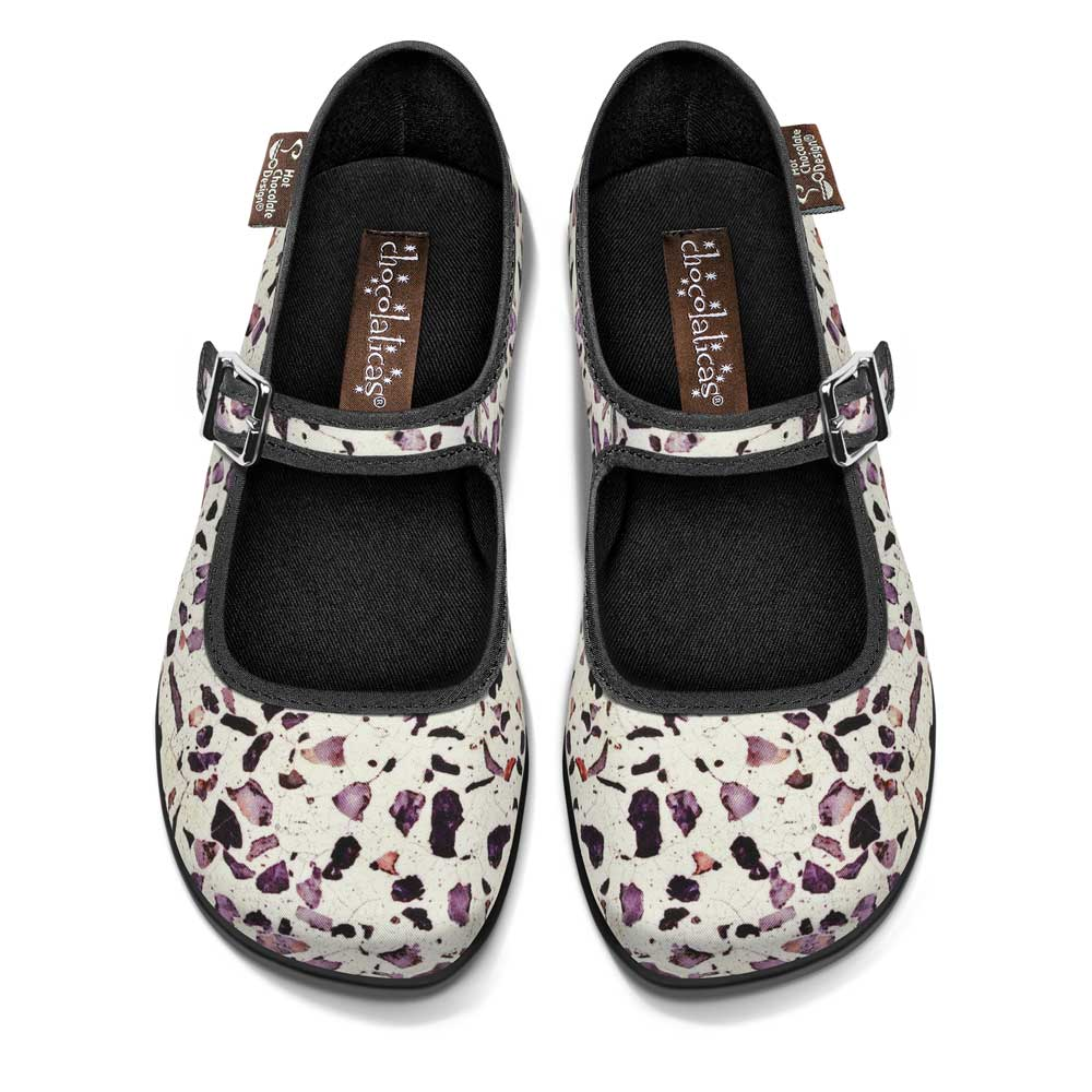 Chocolaticas® Terrazo Women's Mary Jane Flat