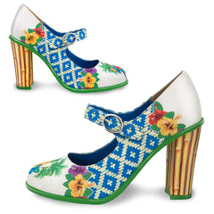 Chocolaticas® High Heels Tropic Women's Mary Jane Pump
