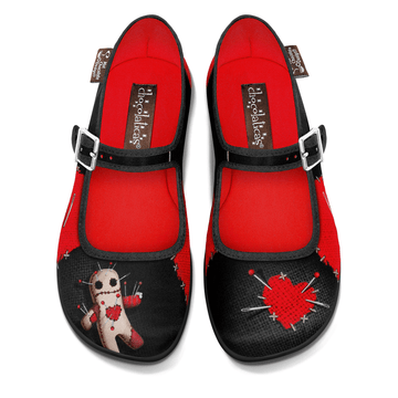 Chocolaticas® Voodoo Women's Mary Jane Flat