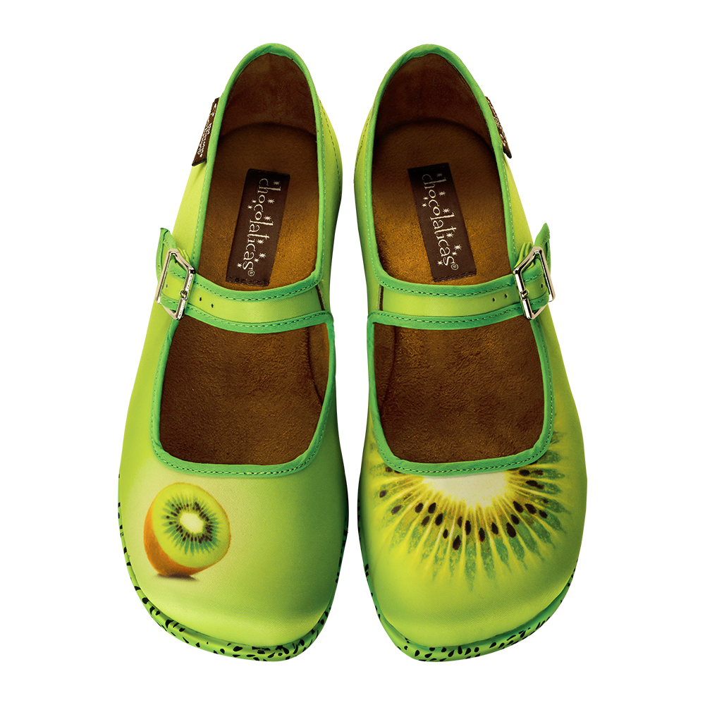 Chocolaticas® Kiwi Women's Mary Jane Flat
