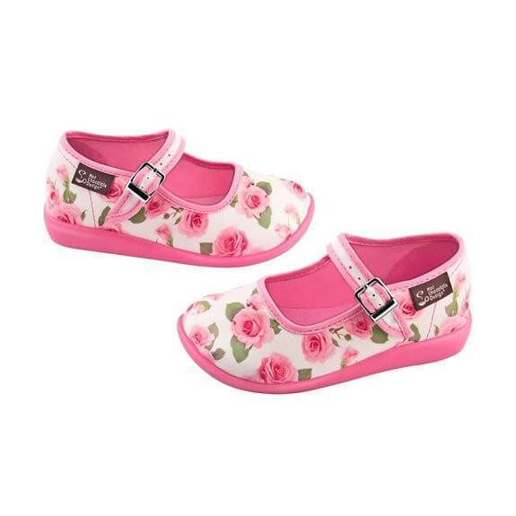Mini Chocolaticas® Rose Girls Mary Jane Flat