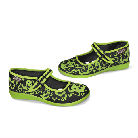 Chocolaticas® R.I.P Women's Mary Jane Flat