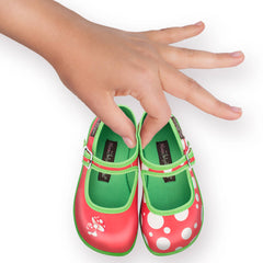 Mini Chocolaticas® Moosh Girls Mary Jane Flat