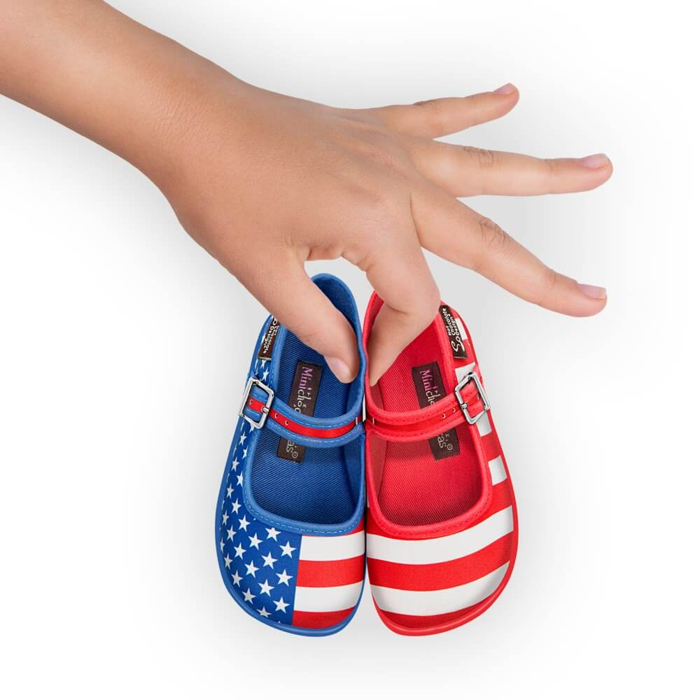 Mini Chocolaticas® USA Girls Mary Jane Flat