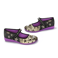 Chocolaticas® Nova & Orion Women's Mary Jane Flat