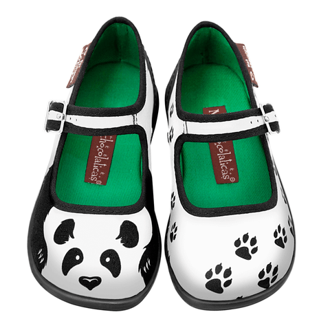 Mini Chocolaticas® Panda Girls Mary Jane Flat