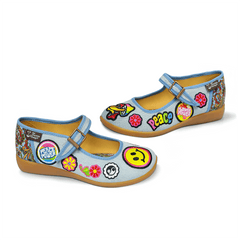 Chocolaticas® Hippie Women's Mary Jane Flat