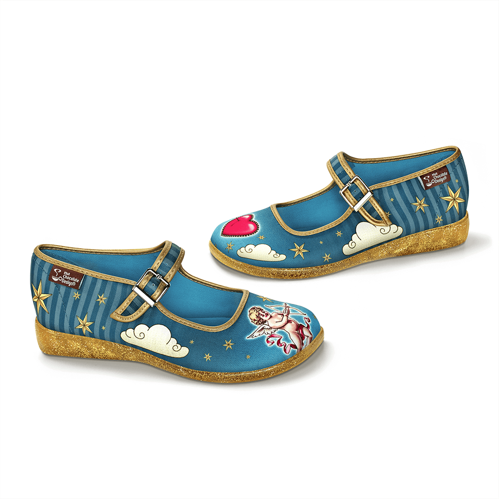 Chocolaticas® Cupid Women's Mary Jane Flat