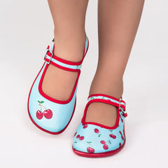Mini Chocolaticas® Cherry Girls Mary Jane Flat
