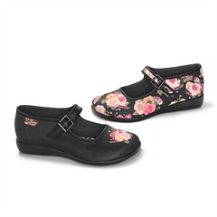 Chocolaticas® Velvet Garden Women's Mary Jane Flat
