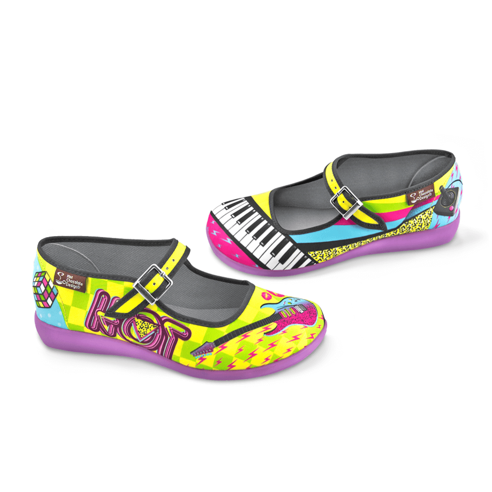 Chocolaticas® New Wave Women's Mary Jane Flat