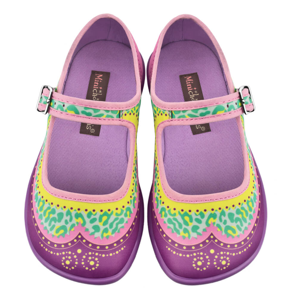 Mini Chocolaticas® Habana Zoo Girls Mary Jane Flat