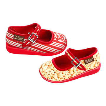 Mini Chocolaticas® Popcorn Girls Mary Jane Flat