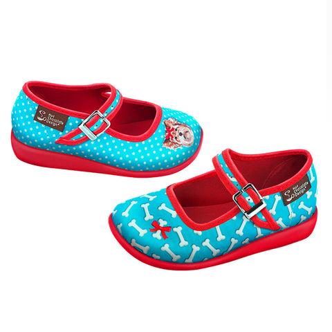Mini Chocolaticas® Lola Girls Mary Jane Flat