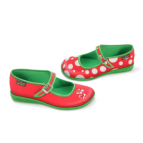 Chocolaticas® Moosh Women's Mary Jane Flat