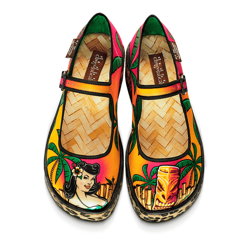 Chocolaticas® Tiki Women's Mary Jane Platform