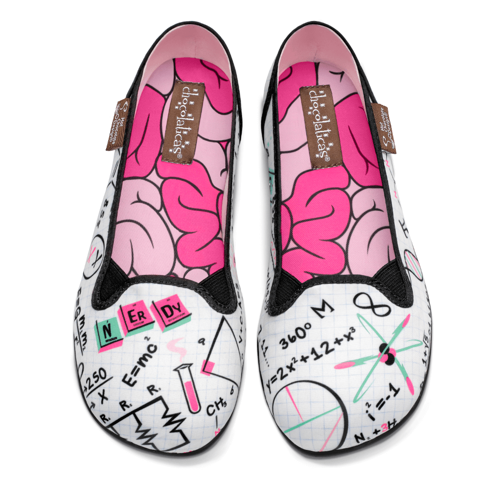 Chocolaticas® Nerdy Women's Slip-On