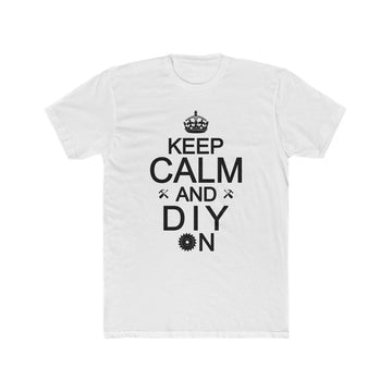 Men's Cotton Crew - Keep Calm Tee Shirt
