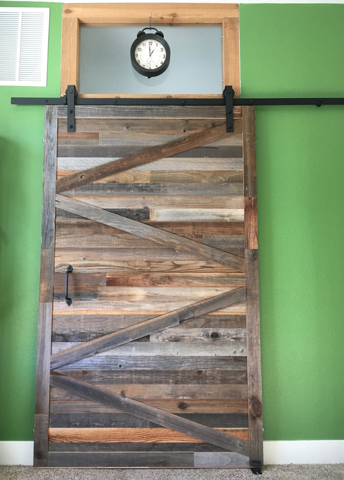 Adjustable Barn Door Hardware - 6ft Track