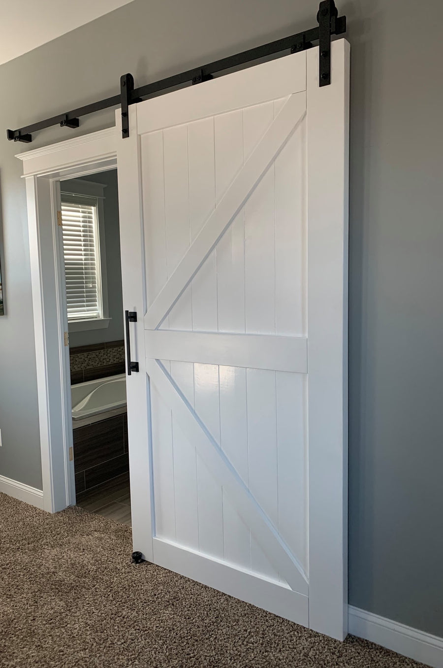 Adjustable Barn Door Hardware