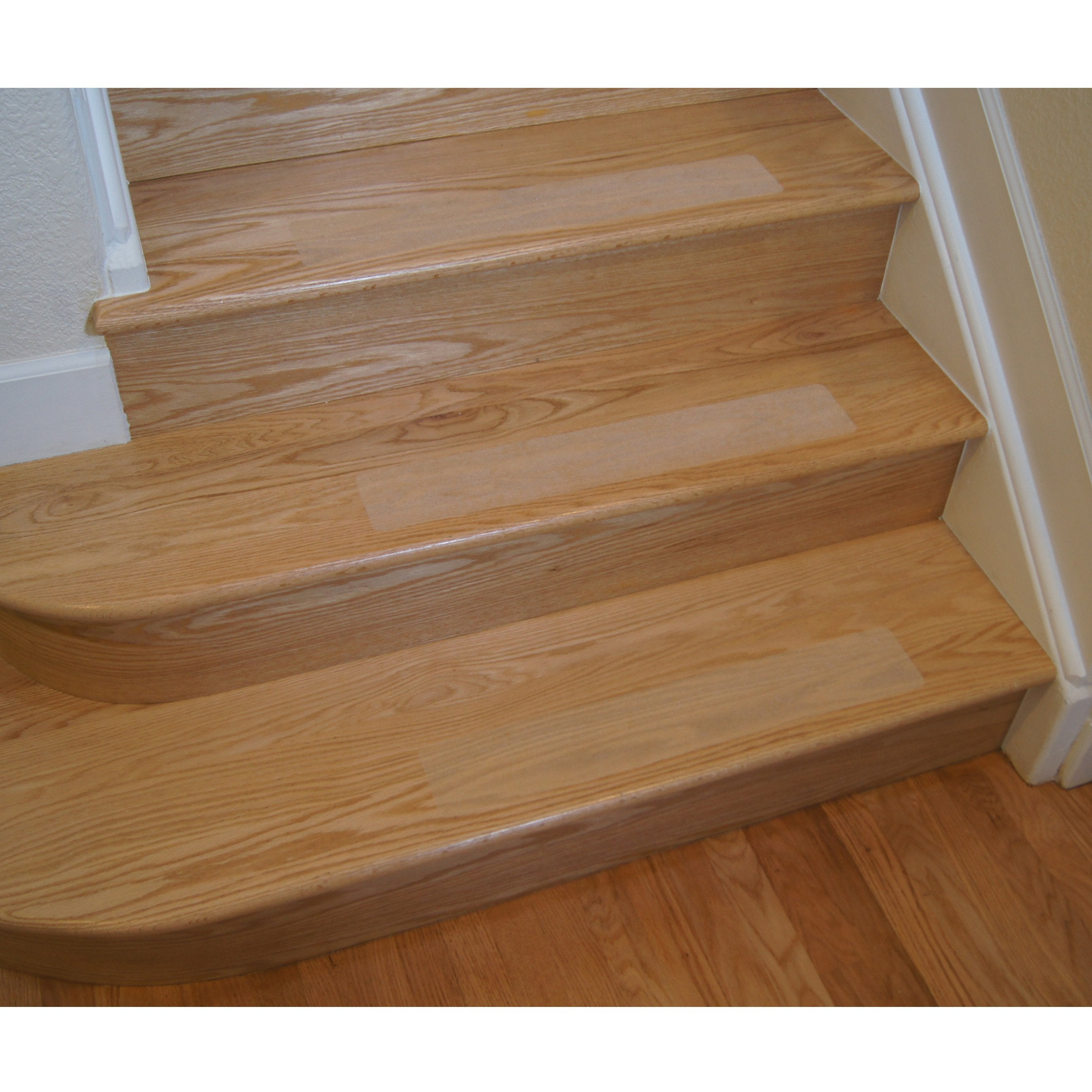 Non Slip Clear Grit Opaque Adhesive Stair Treads And Tape