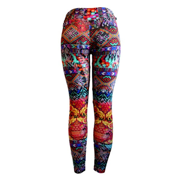 Tribal Thunder Gym Leggings