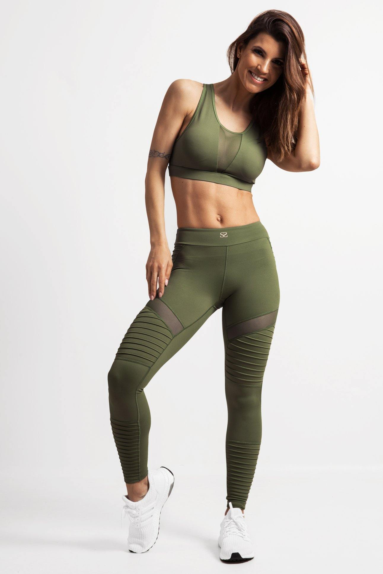 Khaki Legging & Top