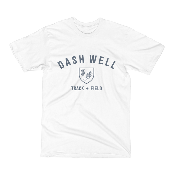 Dash Well Track + Field (shuttle gray print)