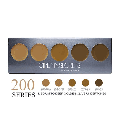 Cinema Secrets Ultimate Foundation 5-In-1 Palette 0.44 oz. (New Version) - 3