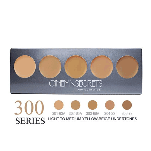 Cinema Secrets Ultimate Foundation 5-In-1 Palette 0.44 oz. (New Version) - 4