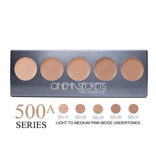 Cinema Secrets Ultimate Foundation 5-In-1 Palette 0.44 oz. (New Version) - 6