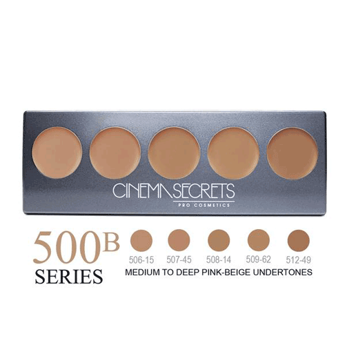 Cinema Secrets Ultimate Foundation 5-In-1 Palette 0.44 oz. (New Version) - 7