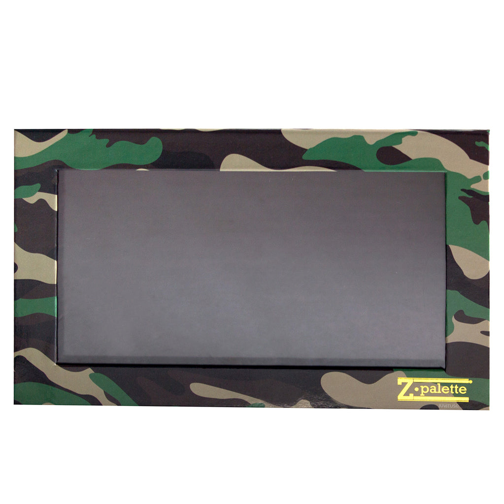 Z Palette Large Camouflage Print with 20 Piece Metal Stickers