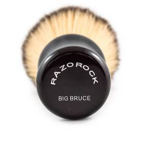 Plissoft BIG BRUCE Synthetic Shaving Brush By RazoRock - KeepYoungForever