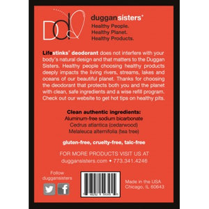 Duggan Sisters LifeStinks cedarwood REGULAR strength decanter refill - KeepYoungForever