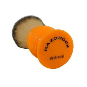 "Plissoft ""BEEHIVE"" Synthetic Shaving Brush - XL SIZE 28mm By RazoRock - KeepYoungForever"