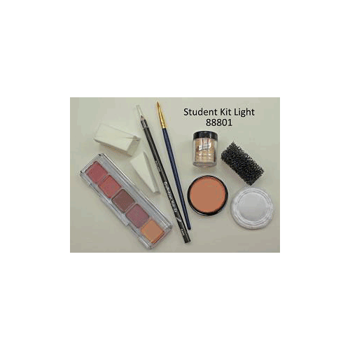 Graftobian Boxed Student Theatrical Kit (Light/Fair) - 2