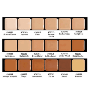 Graftobian HD Glamour Creme Super Palettes - KeepYoungForever