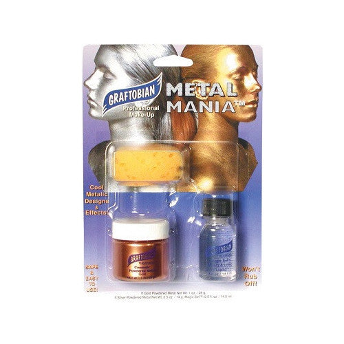 Graftobian Metal Mania - Cosmetic Powdered Metals - Copper