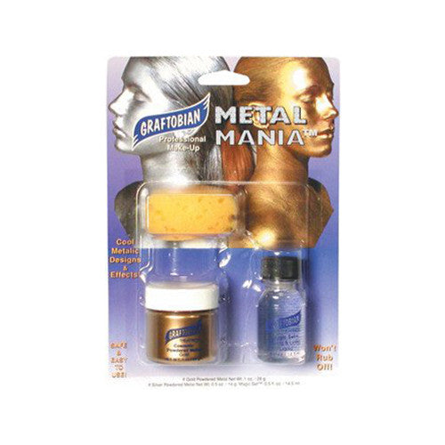 Graftobian Metal Mania - Cosmetic Powdered Metals - Gold