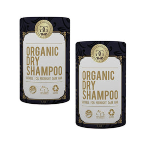 Green & Gorgeous Organics Dry Shampoo - Lavender & Bergamot and Grapefruit & Sweet Orange (For Dark Hair Colors) 2 Pack, 1 oz each